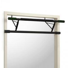 Klarfit In-Door, húzódzkodó rúd ajtókeretbe, 130 kg, EVA pads, acél, fekete