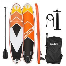 Klarfit Spreestar 325, felfújható paddleboard, SUP deszka, 325x15x86cm, narancssárga