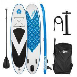 Klarfit Spreestar 320, felfújható paddleboard, SUP deszka, 320x12x81cm, kék-fehér