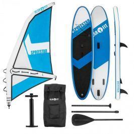 Klarfit SpreestarWL, felfújható paddleboard, sup-board-set, 300x10x71, kék-fehér