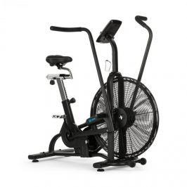 CAPITAL SPORTS Strike Bike, otthoni edzőgép, kardio, ventilációs ellenállás, BT, fekete