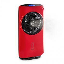 Klarstein Cool Tropic, álló ventilátor párásítóval,48 W, 2820 m³/h, piros