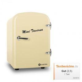 Klarstein Mini Taverna, hűtőszekrény, 4 l, krémszínű