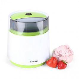 Klarstein Bacio Azzuro,fagylalt gyártó gép,0,8 l,zöld-fehér