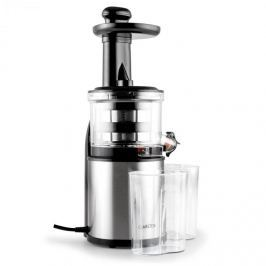 Klarstein Flowjuicer Slow Juicer gyümölcsprés, 200 W, 80 fordulat/perc, rozsdamentes acél