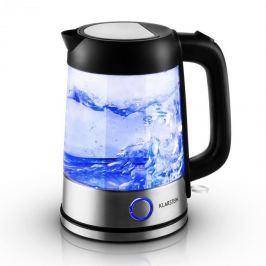 Klarstein Tiefblau vízforraló 1,7 l, 2200 W, kék LED megvilágítás
