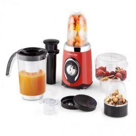 Klarstein Fruizooka, 220 W, piros, turmixgép smoothie készítésére, multifunkcionális 4 az 1-ben berendezés