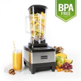 Klarstein Herakles-4G-E, 1500 W, 2 liter, asztali mixer, fekete rozsdamentes acél, zöld smoothie, BPA nélkül
