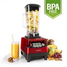 Klarstein Herakles 5G asztali mixer, 1500 W, 2 liter, zöld smoothie, BPA mentes, piros
