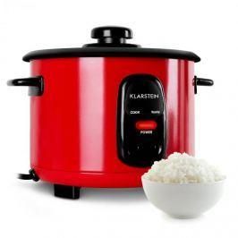 Klarstein Osaka 1,5, piros, rizsfőző, 500 W, 1,5 liter, melegen tartó funkció