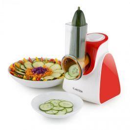 Klarstein Carrot & Rock, 150W, piros, elektromos zöldségszeletelő, 5 kiegészítő