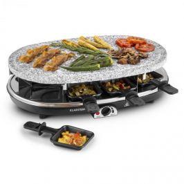 Klarstein Steaklette, 1500W, raclette sütő gránitlappal, 8 személyes