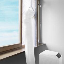 Klarstein ablaktömítés mobil légkondicionálóhoz, 3,9 m, tépőzár, rögzítő szalag