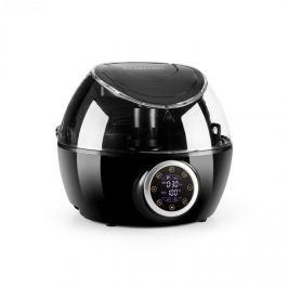 Klarstein VitAir Twist meleglevegős fritőz, 4 az 1-ben, automata főzőgép, 1230 W, fekete