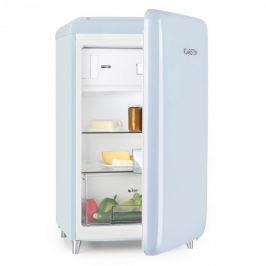 Klarstein PopArt Blue retro hűtőszekrény, A++, 108 l / 13 l fagyasztó rész, kék