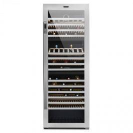 Klarstein Botella Trium 3-zónás borhűtő, 617 l, B energetikai osztály, UV üveg, nemeacél
