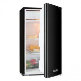 Klarstein Alleinversorger, fekete, hűtőszekrény, 90 l, A+ osztály, 2 emeletes fagyasztó
