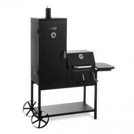 Klarstein Fleischbrocken, fekete, faszenes grillsütő, füstölő és barbecue grillsütő