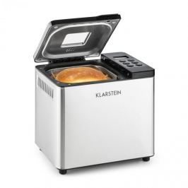 Klarstein Krümelmonster kenyérsütő, 550 W, 750 g, nemesacél, ezüst/fekete
