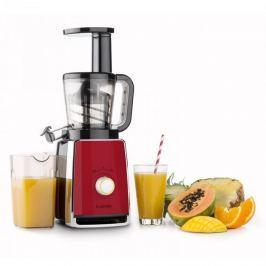 Klarstein Sweetheart slow juicer gyümölcsfacsaró, 150 W, 32 fordulat/perc, vörös