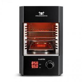 Klarstein Steakreaktor 2.0, 1600 W, szobai elektromos grillsütő, 850 °C, infravörös sugárzás