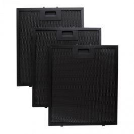 Klarstein alumínium zsírzsűrő, 26,5 x 31 cm, pót, cserélhető szűrő, fekete