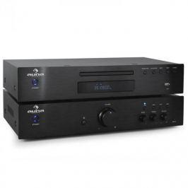2.0 HiFi Szett Auna Elegance Tower, CD-lejátszó, 600 W-os