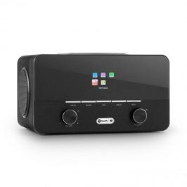 Auna Connect 150 BK 2.1 internet rádió medialejátszóval, WiFi, LAN, USB, DAB+, FM