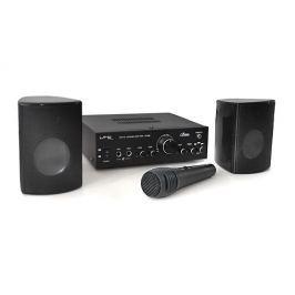 LTC Star 1 szett, erősítő, 2 hangfal, mikrofon, karaoke
