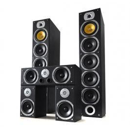 Beng V9B fekete házimozi hangfalszett, 5 darab 1240W
