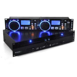 Ibiza Global DJ, kettős CD lejátszóval, 2 x USB, 2 SD