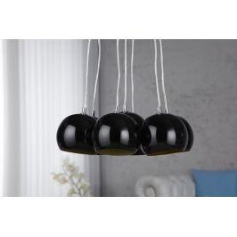 Függesztékes lámpa VIRGO - fekete/arany