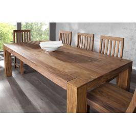 Étkezőasztal MAKASSAR NATUR 200cm - természetes