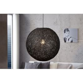 Függesztékes lámpa VOLANS - fekete