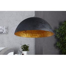 Függesztékes lámpa NEMESIS 50 cm - fekete/arany