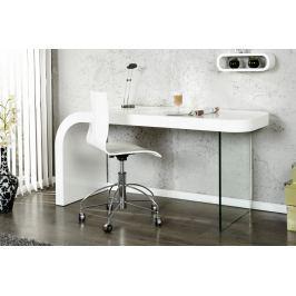 Íróasztal ONYX magasfényű - fehér