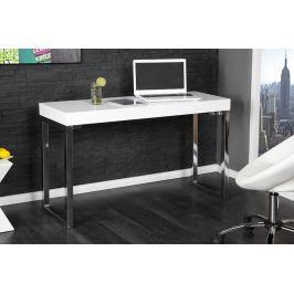 Íróasztal SALMA magasfényű - fehér