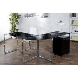 Sarok íróasztal ELLA - fekete