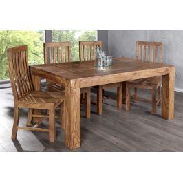 Étkezőasztal MAKASSAR NATUR 160cm - barna