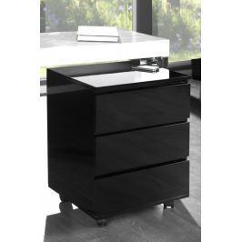 Fiókos szekrény BAJKAL - fekete