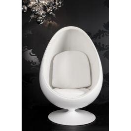 Fotel PASSADENA Napalon Leder fehér