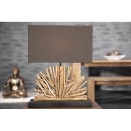 Asztali lámpa LUPUS - barna
