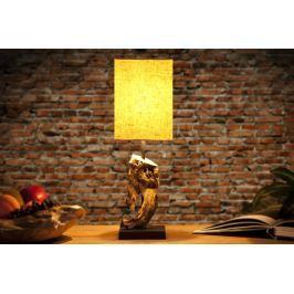 Asztali lámpa CYGNUS bézs