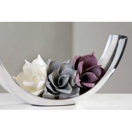 Dekorácia do vázy kvet VERNALIS - sivá