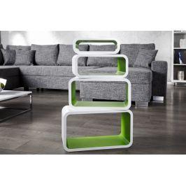 Polc CLUB Kollekció GREEN - fehér/zöld