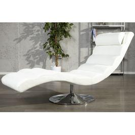 Relaxációs fotel RELAX WHITE - fehér