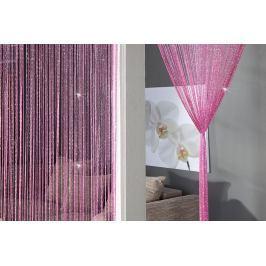 Függöny BRILLIANCE - rózsaszín
