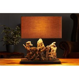 Asztali lámpa ARAGON - barna