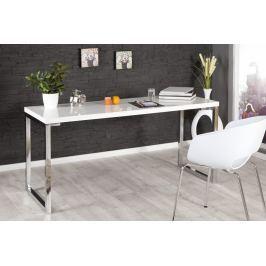 Íróasztal DELK 160 cm - fehér