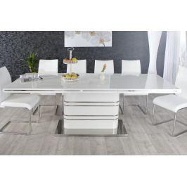 Széthúzható étkezőasztal ALANTIS 160-220 cm - fehér